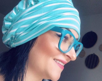 Scrub Hat - Nurse Hat - Surgeon Cap - Stripes