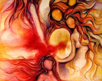 Goddess art | Etsy