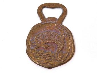 Vintage Greek God Bottle Opener Souvenir Coin Poseidon Mythology