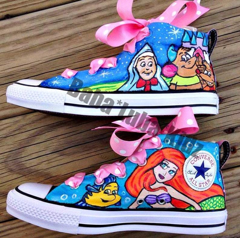 12a99757c4ec ADULT Let me paint your canvas shoes Boutique custom