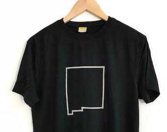Men's T shirt/Bamboo Clothing/Organic Bamboo for Men/Organic Cotton for Men/Maude Andrade/New Mexico/Black T shirts