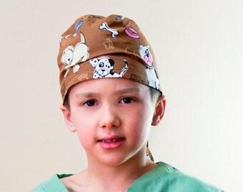 Children's Scrubs Hat Boy Girl Toddler Child Assorted Prints