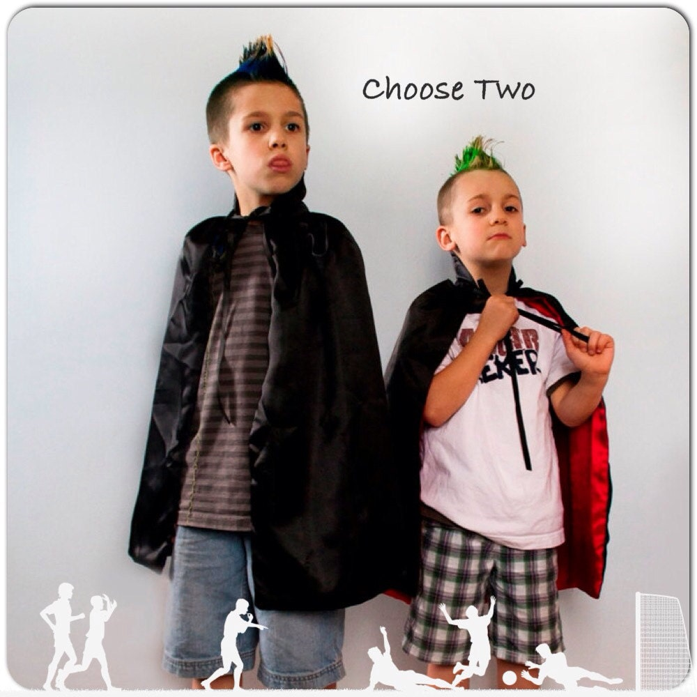 What Children Believe: Pick Two Capes Children Make Believe Halloween Costume