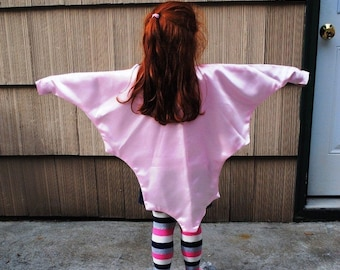 Fairy Wings Cape Pink Photo Prop Toddler Children