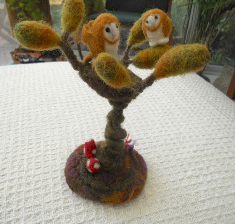 Owls In A Tree Wee Barn Owls Dream Tree And Owls Waldorf