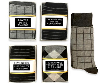 Trust Me I/'m a Lawyer Socks Printed Men/'s and Ladies GIFT Great ValentinesChristmasAnniversaryBirthday Graduation Gift