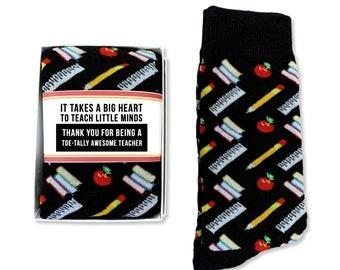 Ruffle Socks Personalized Back to School  Colorful Crayons for Girls Birthday Teacher gift Pre K Kindergarten Grammar School