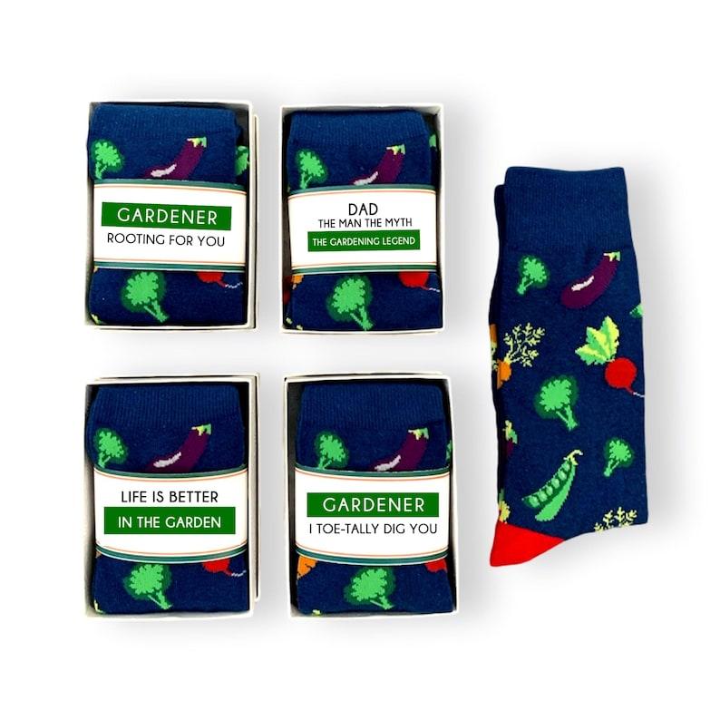 Vegetable Gardener Socks