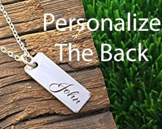 Personalized Name Pendant Necklace Gifts for Wife Gifts Valentine's Day Gift For Wife Gift Jewelry Wife Birthday Christmas Gift