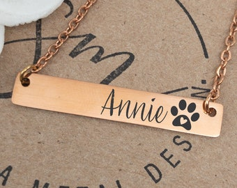 bulldog personalized dog jewelry pet loss necklace gift from dog \u2013 chleoduck trendy pet jewelry Dog mom gift dog mother\u2019s day