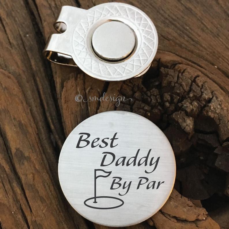 Best Daddy By Par Ball Marker Golf Gift Dad Wedding Idea For Godfather Birthday