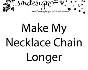 Make My Necklace Chain Longer