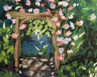 Kletterbogen Für Rosen : Climbing arch etsy
