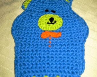 Bath Mitt/Hand Puppet, Bear named Benji, Handmade