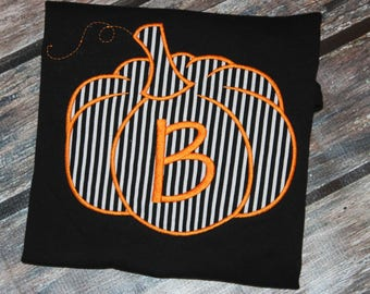 Pumpkin Patch or Fall tshirt, or dress for boy, girl, or baby- you pick fabric