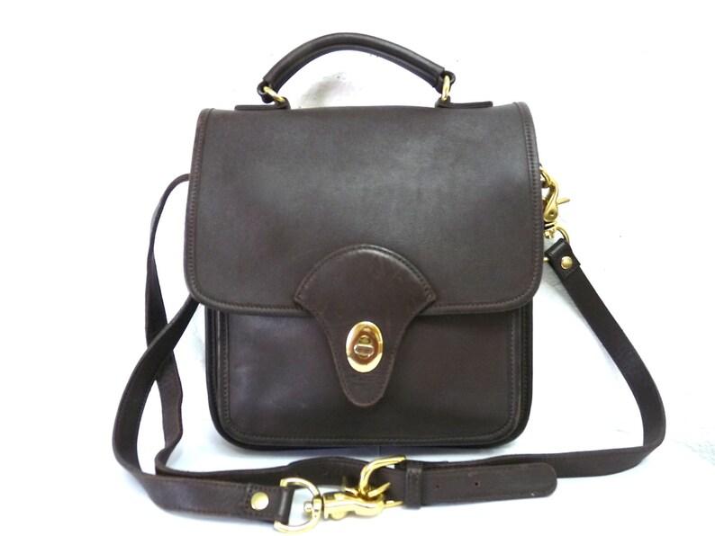 0d14cb87026a Brown leather bag Coach by Kirkland Crossbody purse Coach