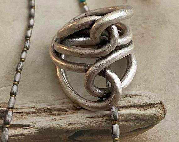 4371 - Boho Ring, Bohemian Ring , Ethnic, Tribal, Hippie Style