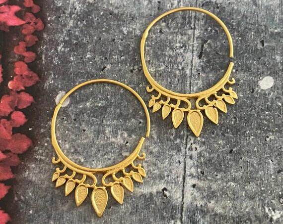 5628 - Bohemian Earrings,Bohemian Jewelry, Best Friends Gift