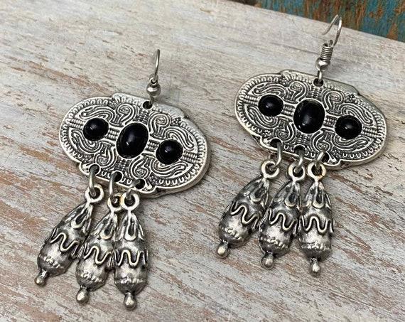 5442 - Dangle Earrings, ethnic earrings, vintage earrings