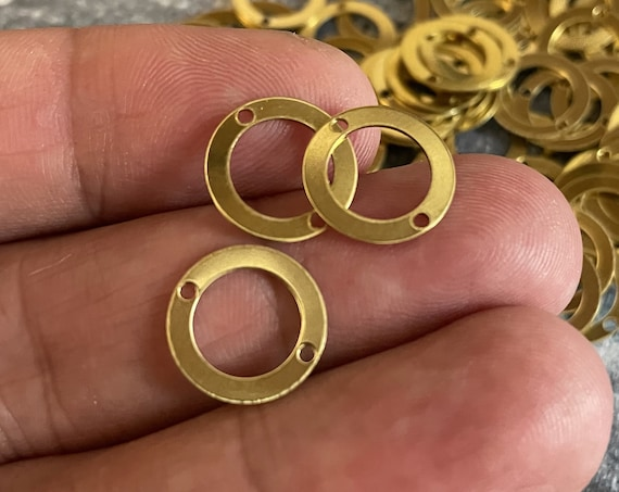 3032- Approx.96 PCS Raw Brass Earring Findings,One set, endless possibilities. Wholesale earring findings for jewelry making parts.