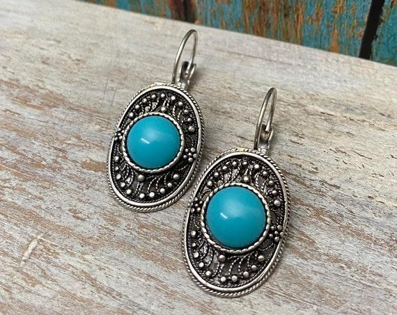 5449 - Bohemian Earrings, Bohemian Jewelry, Gift for Her