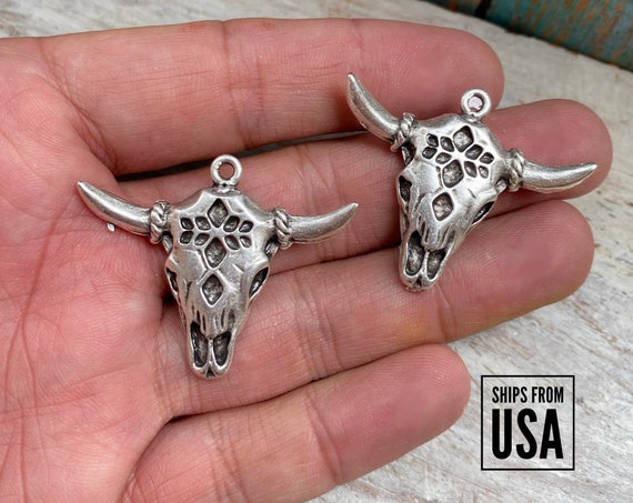 8130 - Western Earrings  Element- Wholesale earring findings for jewelry making parts. Bohemian Earring Findings