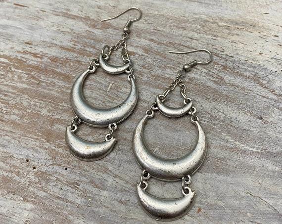 5476 - Bohemian jewelry boho earrings ethnic earrings dangle earrings statement earrings gypsy earrings tribal jewelry tribal earrings