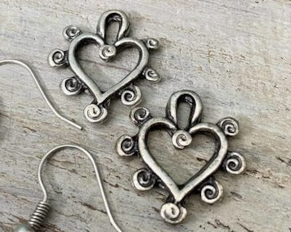 8036 - Wholesale earring findings for jewelry making parts.Best gift for her.