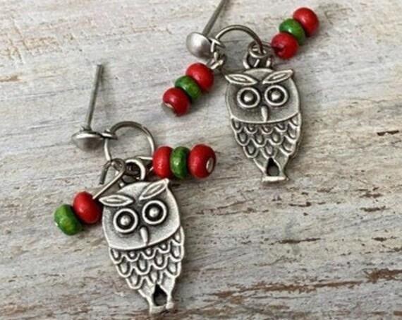 5309 - Bohemian jewelry boho earrings ethnic earrings dangle earrings statement earrings gypsy earrings tribal jewelry tribal earrings