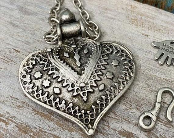 7002 - Troy Pendant - Necklace for women - Pendant Only - Chain and Jump rings not included - Gift for