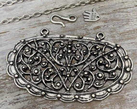 7038- Jezebel Pendant - Necklace for women - Necklace making kit - Gift for