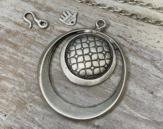 7039 - Galassia Pendant - Necklace for women - Necklace making kit - Gift for