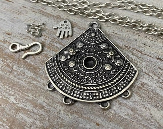 8034 - Horizon Pendant - Necklace for women - Necklace making kit - Gift for