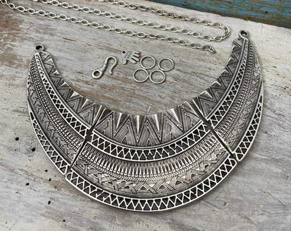 7059 - Rosette Necklace Set - Necklace for women - Necklace making kit - Gift for