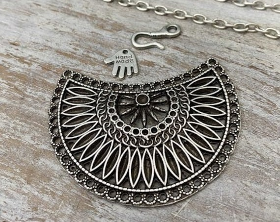 7029- Fiji 2  Pendant - Necklace for women - Necklace making kit - Gift for
