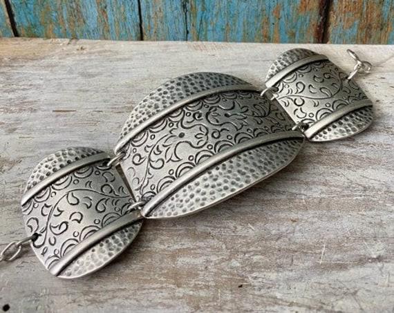 Antique Silver Plated  Bohemian Bracelet Findings. Bohemian Bracelets for women - 2014