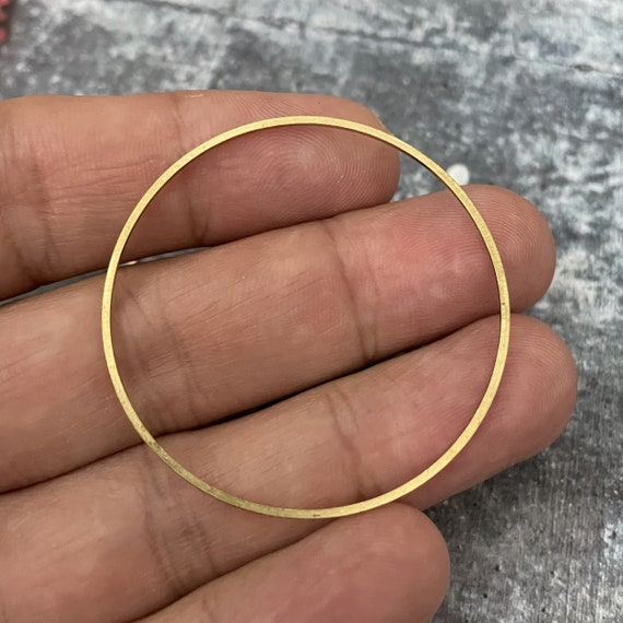 Brass Charms, Raw Brass Earring Findings. Earring Finds. Wholesale earring findings for jewelry making parts. - 3071