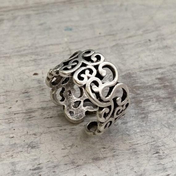 4315 - Bohemian,boho Ring, Ethnic Tribal,  Gypsy Hippie Rings