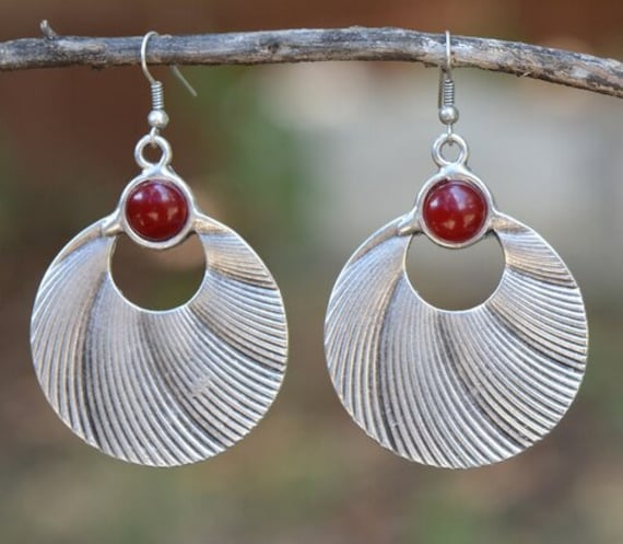 5324 - Bohemian Earrings,Bohemian Jewelry, Minimalist Earrings