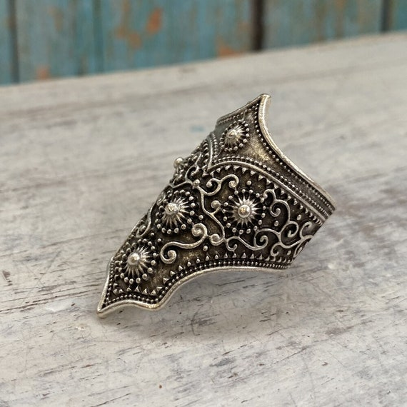 4473 - Boho Ring, Bohemian Ring , Ethnic, Tribal, Hippie Style