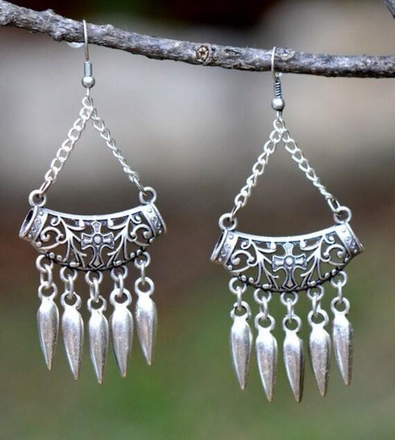 5420 - Tassel Earrings, Stud Earrings, Dangle Earrings