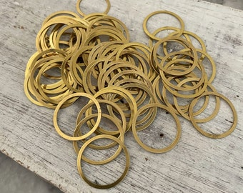 Approx. 65 PCS Raw Brass Earring Findings,One set, endless possibilities. Wholesale earring findings for jewelry making parts. - 3003