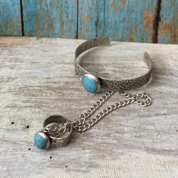 2051 - Antique Silver Plated  Bohemian Bracelet Findings, bracelets for women. Bohemian Bracelets for women