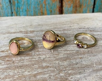 4413 -boho Ring, Bohemian Ring , Ethnic, Tribal, Hippie Style