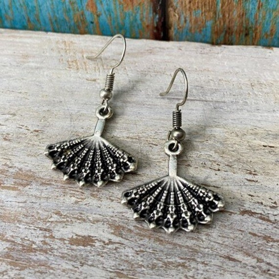 5322 - Bohemian jewelry boho earrings ethnic earrings dangle earrings statement earrings gypsy earrings tribal jewelry tribal earrings