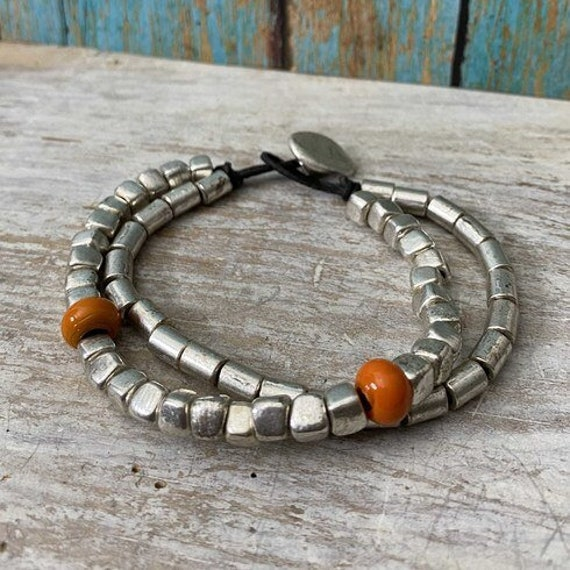 2025 - Antique Silver Plated  Bohemian Bracelet Findings