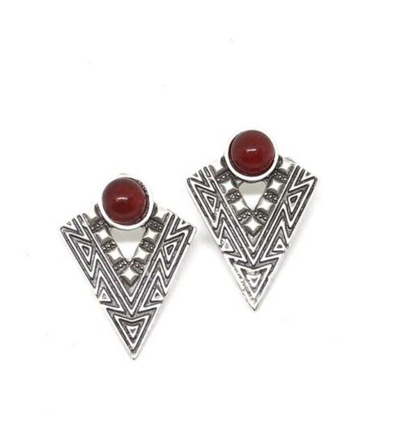 5454 - Minimalist Earrings,Bohemian Jewelry,Bohemian Earrings