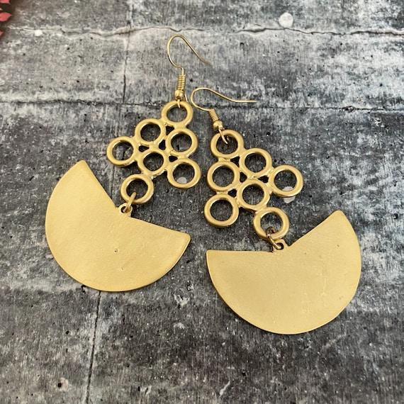 1038 - DIY Earring Making Kit. Earring Set. Matte Gold Earring Findings.Earring Hooks.Design your earrings. Jump rings.Jewelry Supplies.