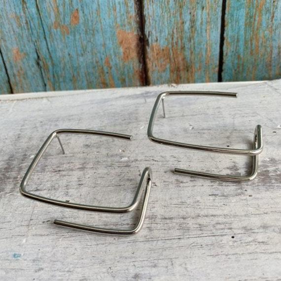 S071 - Geometric Earrings, Bohemian Jewelry,Hoop Earrings