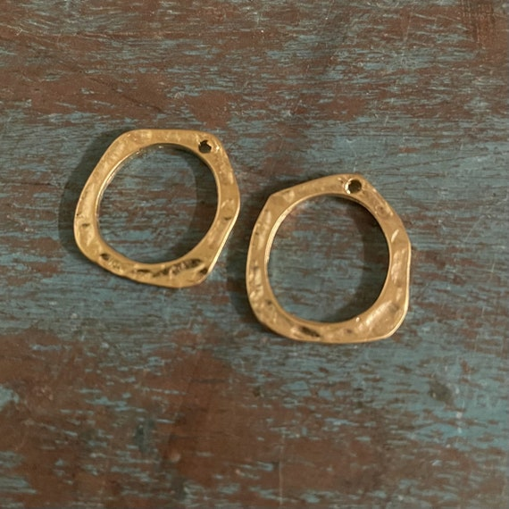 1058 -2 PCS Brass Earring Findings,One set, endless possibilities. Wholesale earring findings for jewelry making parts. Best gift for her.